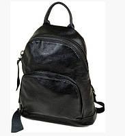 Рюкзак кожаный женский Podium 3-02 8009 черный