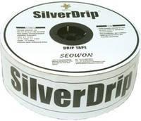 Капельная лента SilverDrip (Сильвер Дрип), 16ммх6MIL, капельницы через 10см