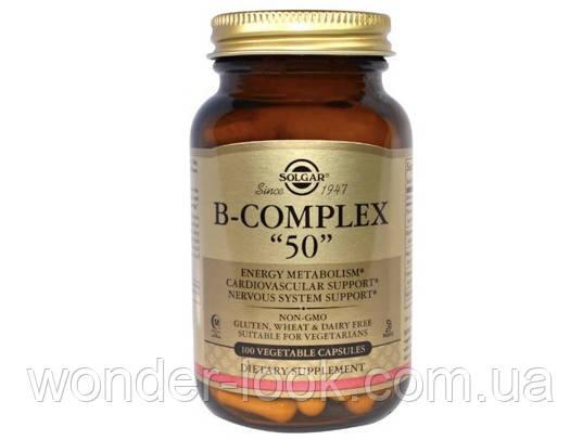 Solgar b complex 50 B-комплекс