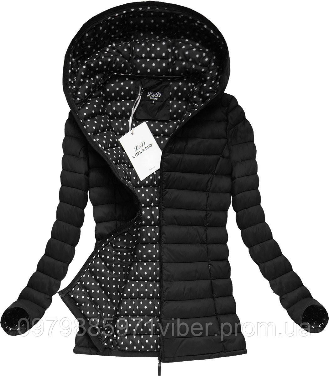 03d7ad969ed Весенняя и осенняя женская стеганая куртка с капюшоном - Доставка товаров  из Польши в Львове