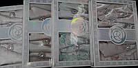Скатерть с салфетками и кольцами в подарочной упаковке, скатерть - 150х220 см., салфетка - 45х45 см., 720/395
