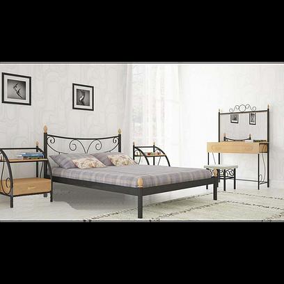 Металлическая кровать Луиза