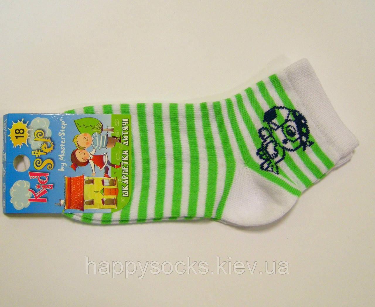 Мальчиковые яркие носки хлопковые не высокие