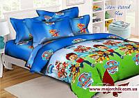 Комплект постельного белья Щенячий Патруль1,5 спальный комплект 150х220 Paw Patrol