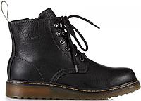Dr. Martens Zip Boots Black | мужские ботинки Мартинсы черные кожаные