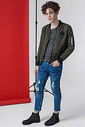 Куртка мужская короткая модная размеры 48,52,52,54