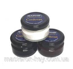 Крем для кожи кордован Saphir Cordovan цвет черный (01) 50 мл
