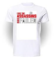 Футболка GeekLandКредо ассасина Assassins Creed I see the assassins have failed AC.01.016