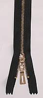 Молния металлическая Тип5 Золото рулонная 100м