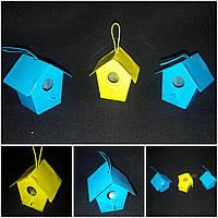 Скворечник декоративный, металл, 5х5 см, 28/20 (цена за 1 шт. + 8 грн.)