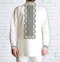 Заготовка чоловічої сорочки та вишиванки для вишивки чи вишивання бісером  Бисерок «548 Дивоцвіт» ( 70b6536019ecf