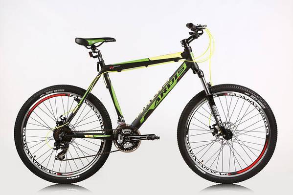 """Горный велосипед ARDIS VIRUS MTB 26"""" 17,5""""  Черный/Зеленый"""