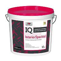 Акриловая шпаклевка для внутренних работ IQ Interior Spachtel, 10 л