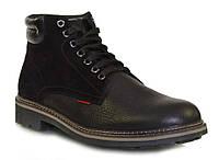 Ботинки зимние кожаные мужские Caman 10581-5