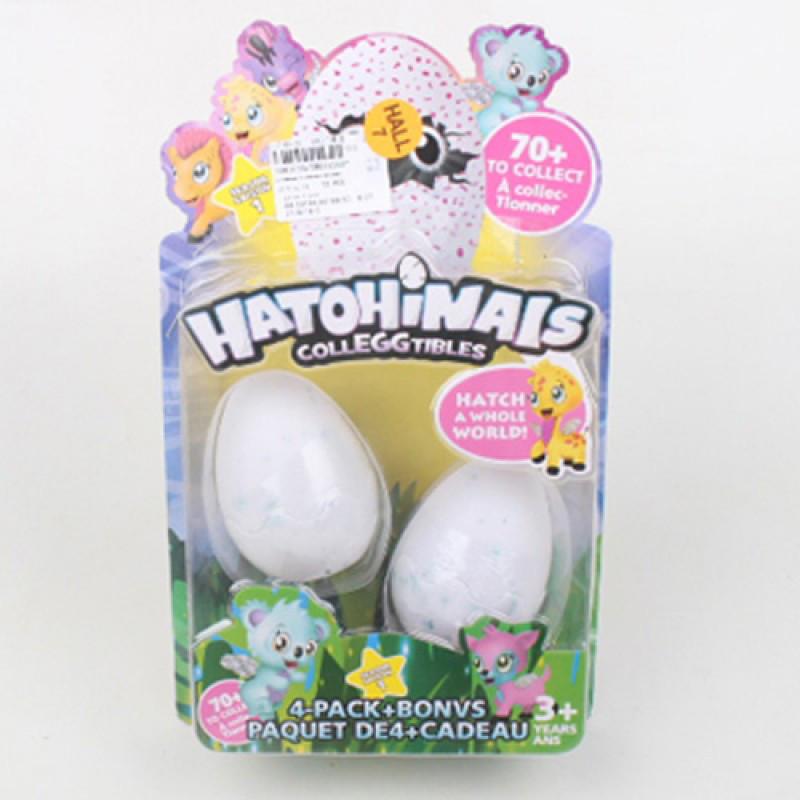 Коллекционные Фигурки 2 шт в яйце аналог Хетчималс hatchimals (hatohinails), набор два яйца, Копия, TBG212407
