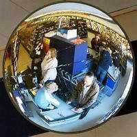 Сферическое круглое зеркало K-500