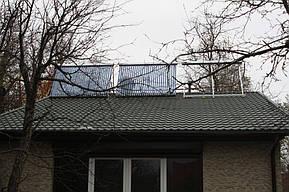 Монтаж солнечных коллекторов для нагрева бассейна объемом 16м3, а также как дополнительного источника энергии для догрева системы теплых полов... 1