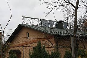 Монтаж солнечных коллекторов для нагрева бассейна объемом 16м3, а также как дополнительного источника энергии для догрева системы теплых полов... 8
