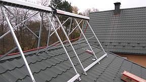 Монтаж солнечных коллекторов для нагрева бассейна объемом 16м3, а также как дополнительного источника энергии для догрева системы теплых полов... 12