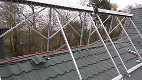 Монтаж солнечных коллекторов для нагрева бассейна объемом 16м3, а также как дополнительного источника энергии для догрева системы теплых полов... 13