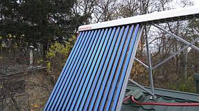 Монтаж солнечных коллекторов для нагрева бассейна объемом 16м3, а также как дополнительного источника энергии для догрева системы теплых полов... 15