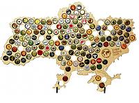 Большая карта Украины CAPSBOARD UKRAINE BIG с подставками 155 отверстий