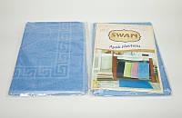 Коврик для ванной Swan Light Blue 50*70 см