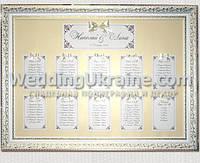 Рассадка гостей на свадьбе на 10 столов