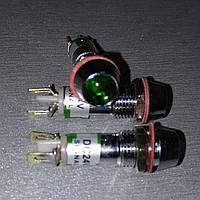 Сигнальна арматура AD22C-8 зелена 220V AC