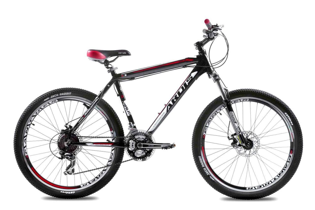"""Горный велосипед ARDIS VIRUS MTB 26"""" 17,5""""  Черный/Серый"""