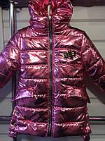 Детская весенняя куртка для девочки  Блест 5-8 лет