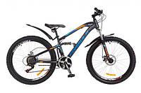 """Велосипед 26"""" Formula BLAZE  серо-сине-оранжевый 2018"""