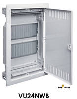 Щит 2-рядный для ММ-оборудования внутренней установки с металлическими дверямиVOLTAHager