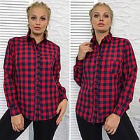 Женская рубашка в клетку (ботал)