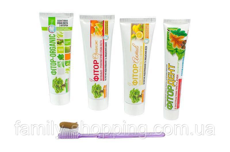 Зубна паста з фитором