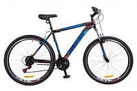 """Велосипед 29"""" Discovery TREK черно-оранжевый с синим 2018"""