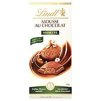 Шоколад молочный Lindt Mousse Nolsette (мусс с фундуком) Швейцария 140 г