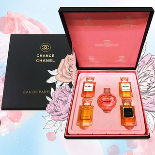 Парфюмерный набор Chanel Chance из 5 ароматов (5*7,5 ml)