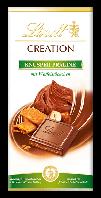 Шоколад молочный Lindt Creation Knusper Praline  Швейцария 150 г