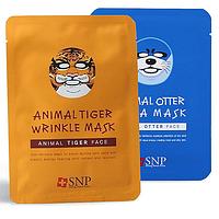 Тканевые маски для лица Animal Mask