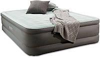 Надувная кровать Intex 64484 с встроенным эл насосом 220В,137-191-46см, фото 1