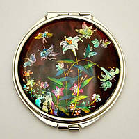 Косметическое зеркальце «Мотылек», фото 1