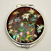 Косметическое зеркальце «Мотылек»