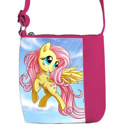 Детская розовая сумочка для девочки Май литл пони, фото 2