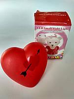 Сердце ночник, фото 1