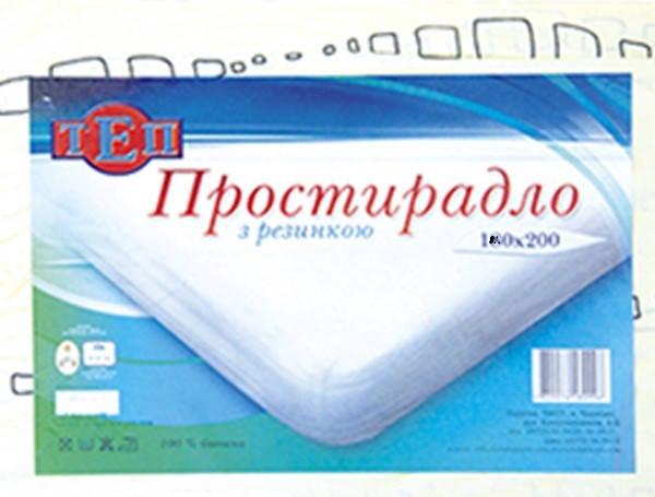 Простынь ТЕП 140*190 с резинкой, фото 2