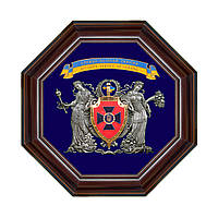 """Коллаж с гербом """"Служба Безопасности Украины"""""""