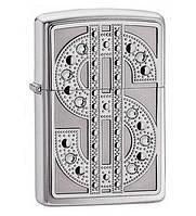 Зажигалка Zippo 20904 Dollar сделано в США, 100% качество, подарок папе Код: 653600943