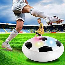 Hoverball футболный аэромяч, летающий мяч, LED подсветка, музыка, фото 3