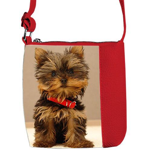 Детские сумочки для девочки с принтом Щенок Йорк